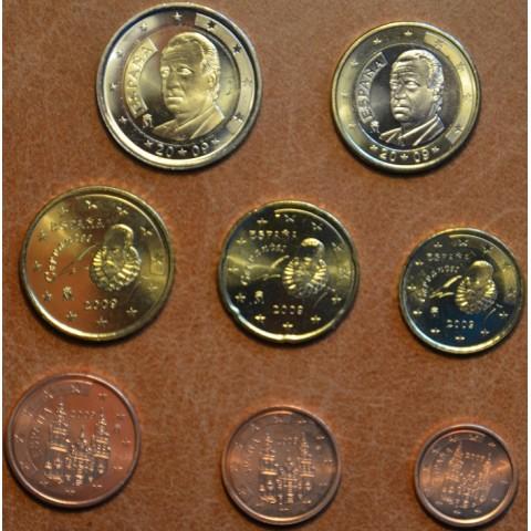 Set of 8 coins Spain 2009 (UNC)