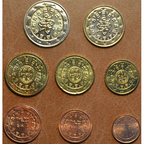 Set of 8 coins Portugal 2005 (UNC)