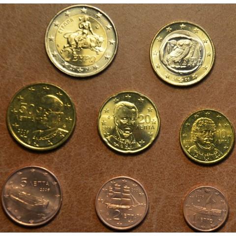 Set of 8 eurocoins Greece 2006 (UNC)