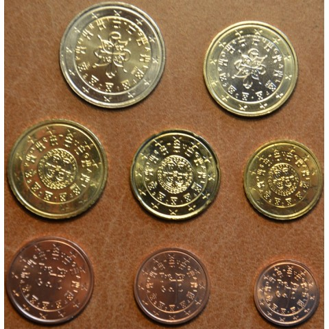 Set of 8 coins Portugal 2014 (UNC)