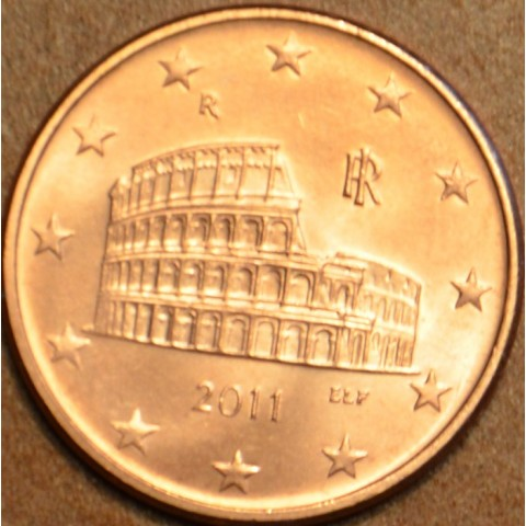 5 cent Italy 2011 (UNC)
