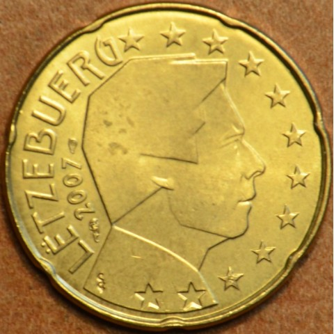 20 cent Luxembourg 2007 (UNC)