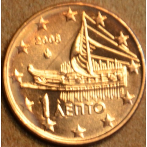 1 cent Greece 2008 (UNC)