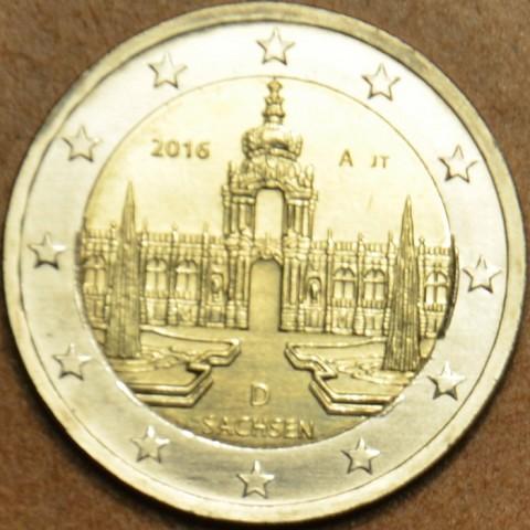 "Presale 2 Euro Germany ""A"" 2016 - Saxony: Dresden  (UNC)"