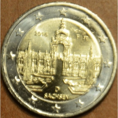 "Presale 2 Euro Germany ""F"" 2016 - Saxony: Dresden  (UNC)"