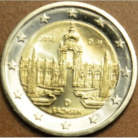 "Presale 2 Euro Germany ""D"" 2016 - Saxony: Dresden  (UNC)"