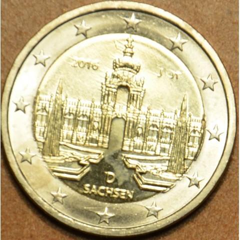 "Presale 2 Euro Germany ""J"" 2016 - Saxony: Dresden  (UNC)"