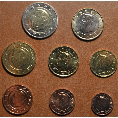 Set of 8 coins Belgium 2003 (UNC)