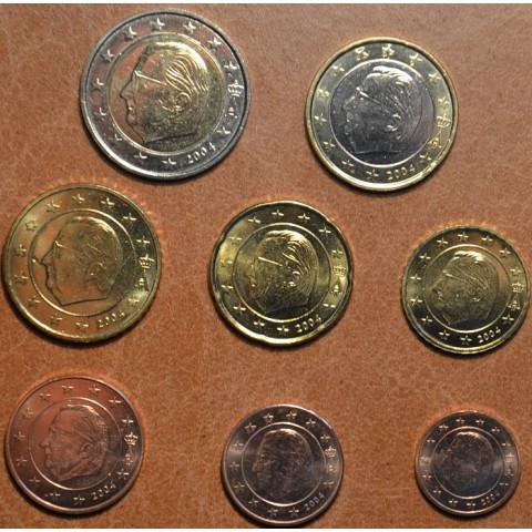 Set of 8 coins Belgium 2004 (UNC)