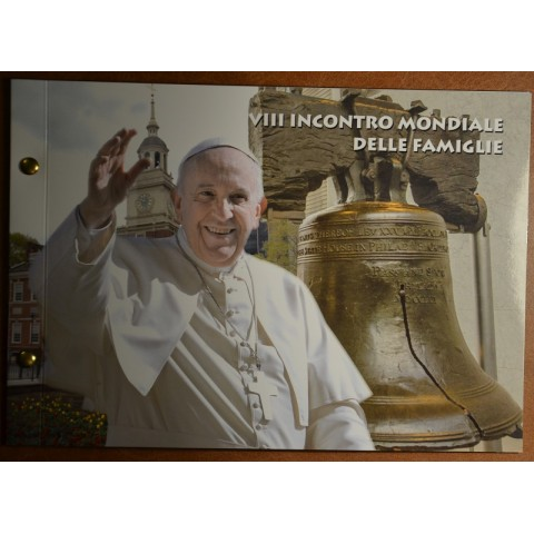 2 Euro Vatican 2015 - Philadelphia numisbrief (BU)