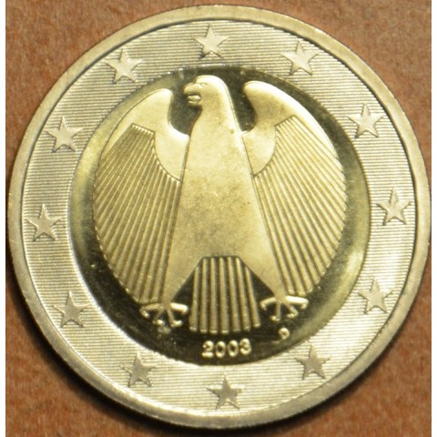 "2 Euro Germany ""D"" 2003 (UNC)"