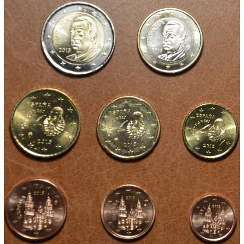 Set of 8 coins Spain 2013 (UNC)
