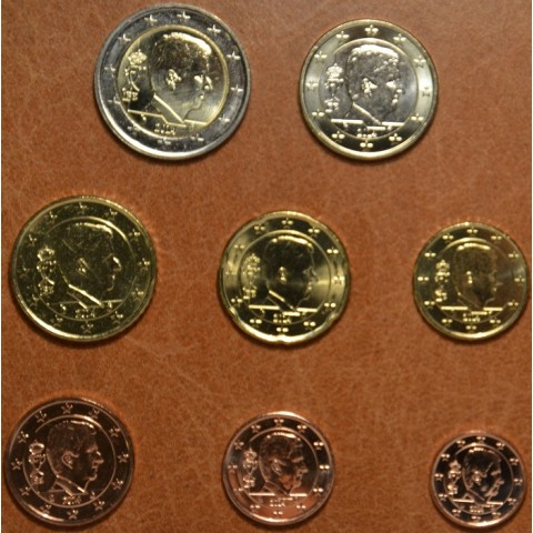 Set of 8 coins Belgium 2014 (UNC)