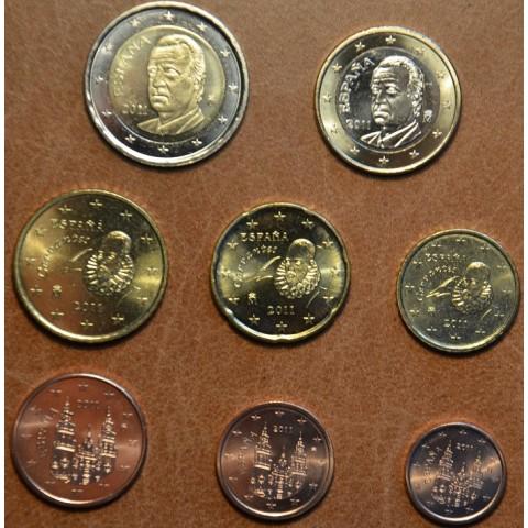 Set of 8 coins Spain 2011 (UNC)