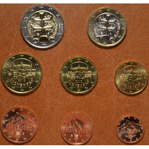 Set of Slovak coins 2012 (UNC)