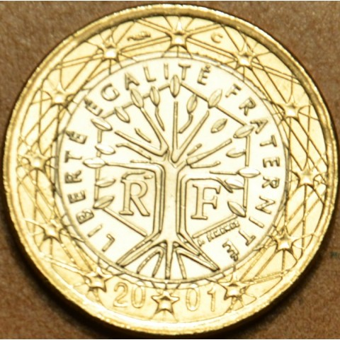 1 Euro France 2001 (UNC)