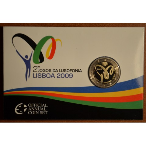 2 Euro Portugal 2009 - Lusophony Games (Proof)