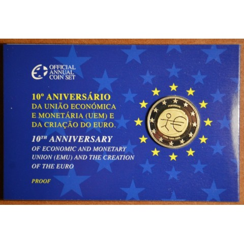 2 Euro Portugal 2009 - 10th Anniversary of the Introduction of the Euro (Proof)