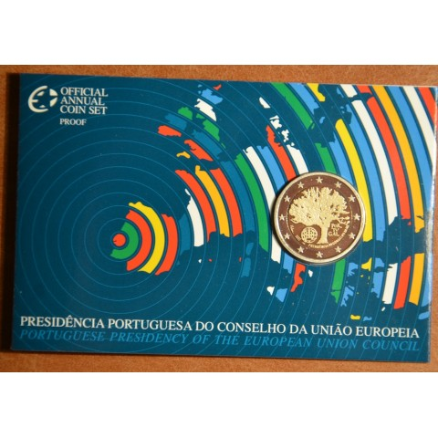 2 Euro Portugal 2007 - Portuguese Presidency of the Council of the European Union (Proof)