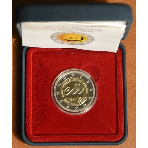 2 Euro Belgium 2010 - Belgian Presidency of the Council of the European Union (Proof)