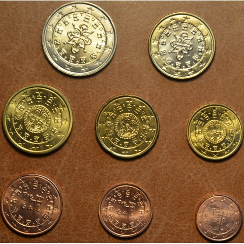 Set of 8 coins Portugal 2004 (UNC)
