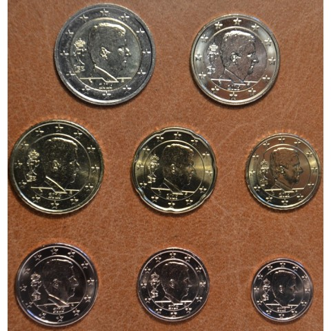 Set of 8 coins Belgium 2016 (UNC)