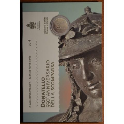 2 Euro San Marino 2016 - 550th anniversary of the death of Donatello  (BU)