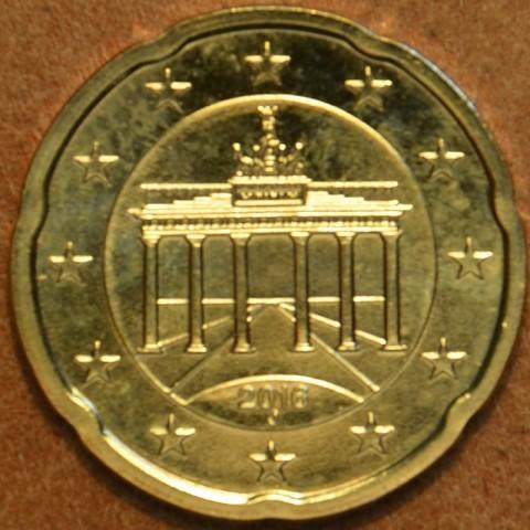 "20 cent Germany ""J"" 2016 (UNC)"