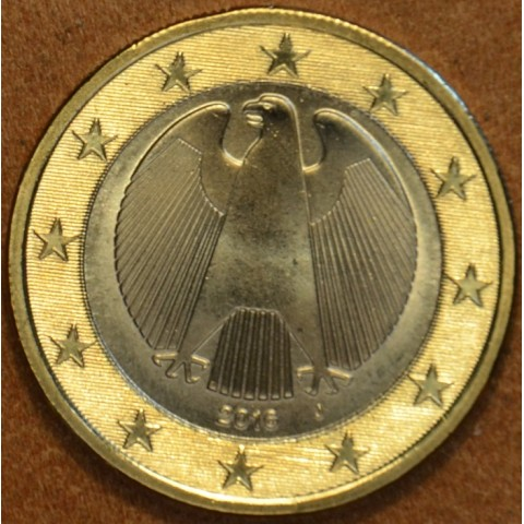 """1 Euro Germany """"A"""" 2016 (UNC)"""