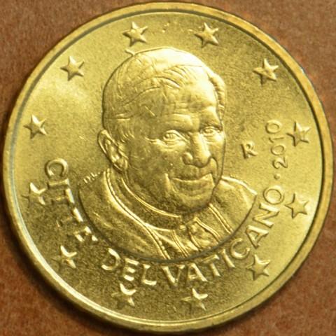 50 cent Vatican 2010 (UNC)