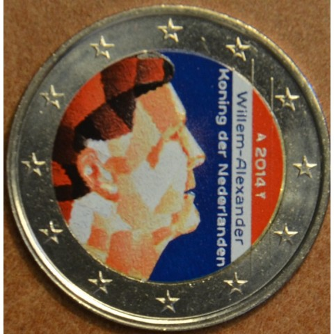 2 Euro Netherlands 2014 (colored UNC)