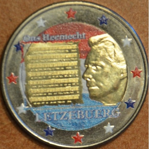 2 Euro Luxembourg 2013 - National Anthem III. (colored UNC)
