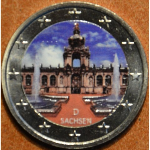 2 Euro Germany 2016 - Saxony: Dresden II. (colored UNC)