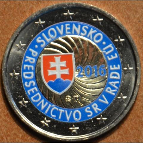 2 Euro Slovakia 2016 - EU presidency III. (colored UNC)