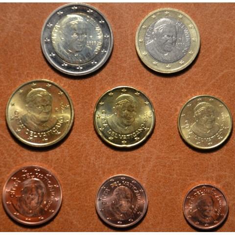 Set of 8 eurocoins Vatican 2008 (UNC w/o folder)