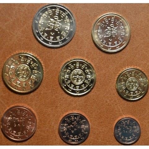 Set of 8 coins Portugal 2016 (UNC)