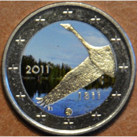 2 Euro Finland 2011 - 200th anniversary of Bank of Finland III. (colored UNC)