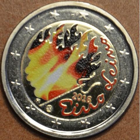 2 Euro Finland 2016 - Eino Leino II. (colored UNC)