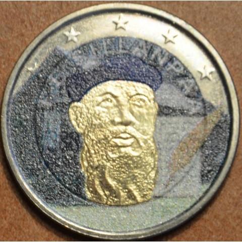 2 Euro Finland 2013 - 125th Anniversary of the birth of Nobel prize winning author F.E.Sillanpaa III. (colored UNC)