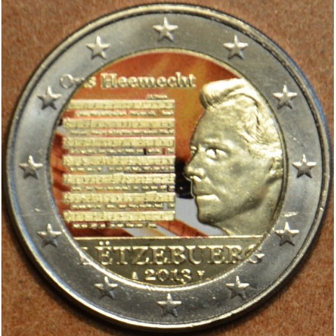2 Euro Luxembourg 2013 - National Anthem IV. (colored UNC)