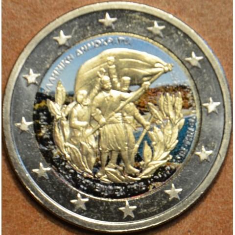 2 Euro Greece 2013 - 100th Anniversary of the union of Crete with Greece III. (colored UNC)