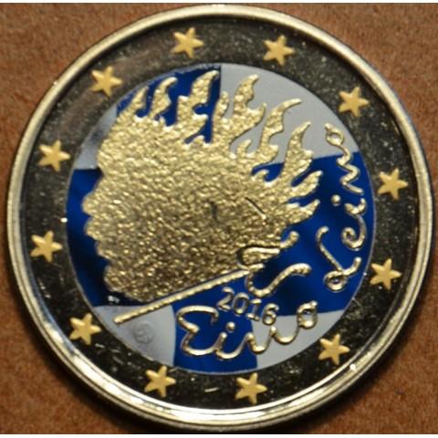 2 Euro Finland 2016 - Eino Leino  (colored UNC)