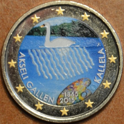 2 Euro Finland 2015 - Akseli Gallen Kallela III. (colored UNC)
