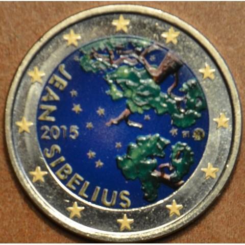 2 Euro Finland 2015 - Jean Sibelius III. (colored UNC)