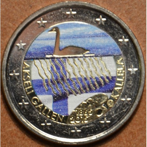 2 Euro Finland 2015 - Akseli Gallen Kallela IV. (colored UNC)