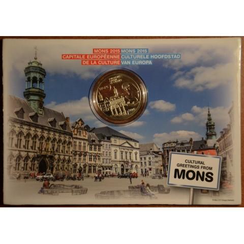 5 Euro Belgium 2015 Mons (BU card)