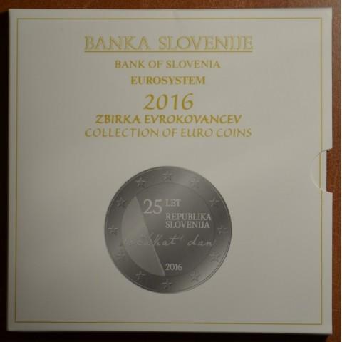 Set of 10 coins Slovenia 2016 (BU)