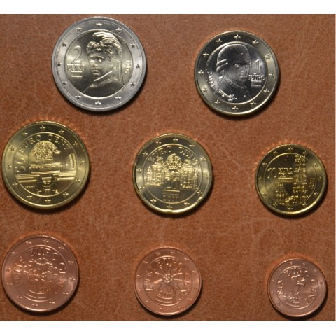 Set of 8 coins Austria 2011 (UNC)