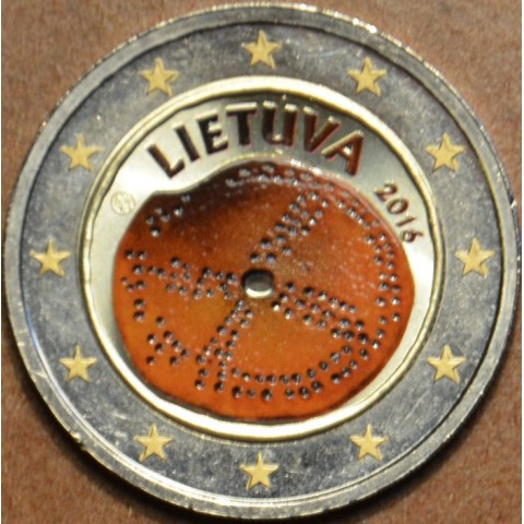 2 Euro Lithuania 2016 - Baltic culture II. (colored UNC)