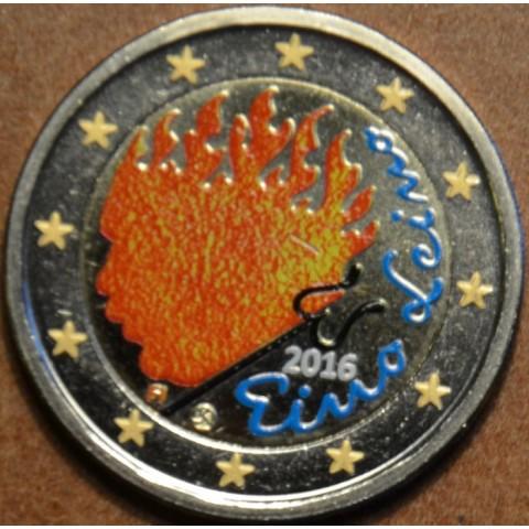 2 Euro Finland 2016 - Eino Leino IV. (colored UNC)